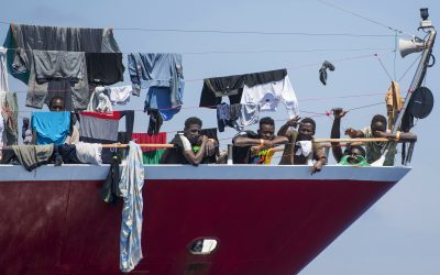 Rescued migrants stranded on chartered Maltese tourist boats