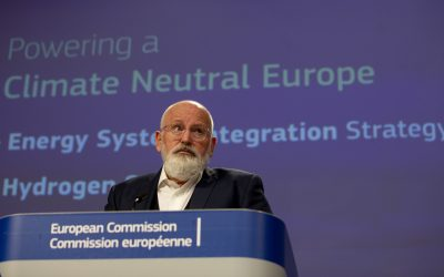 EU bets on clean hydrogen to decarbonize and boost economy
