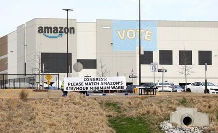 Exclusive: Roughly 500 ballots challenged in Amazon's landmark union election