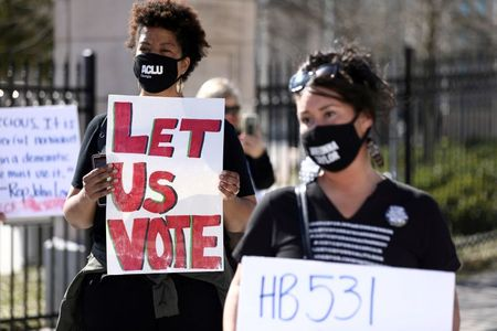Corporate leaders plan new push on U.S. voting rights, will reconsider campaign donations
