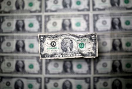 Dollar rises from lows; oil drop hits crude-linked currencies