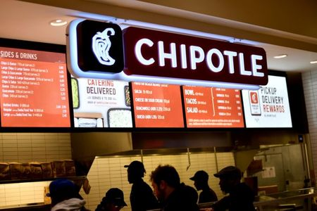 Chipotle expects sales surge this quarter, builds on 17.2% first-quarter growth