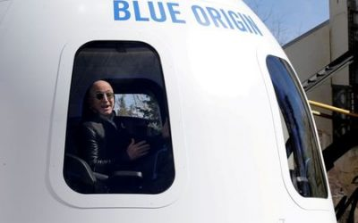 U.S. approves Blue Origin license for human space travel ahead of Bezos flight