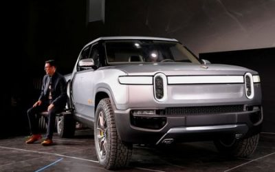 EV startup Rivian announces $2.5 billion funding round led by Amazon, Ford