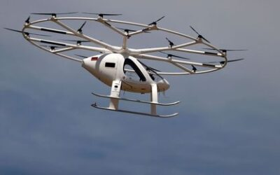Air taxi startup Volocopter to sell 150 aircraft to China JV