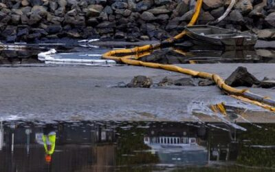 Pipeline from California oil spill was moved 105 feet along sea floor