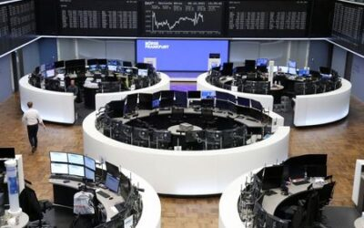 European stocks rise as defensive buying helps offset losses on downbeat earnings