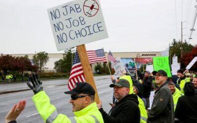 U.S. workers face job losses as COVID-19 vaccine mandates kick in