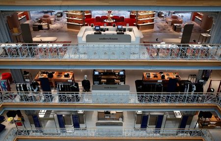 In Paris without tourists, LVMH unveils Samaritaine store revamp